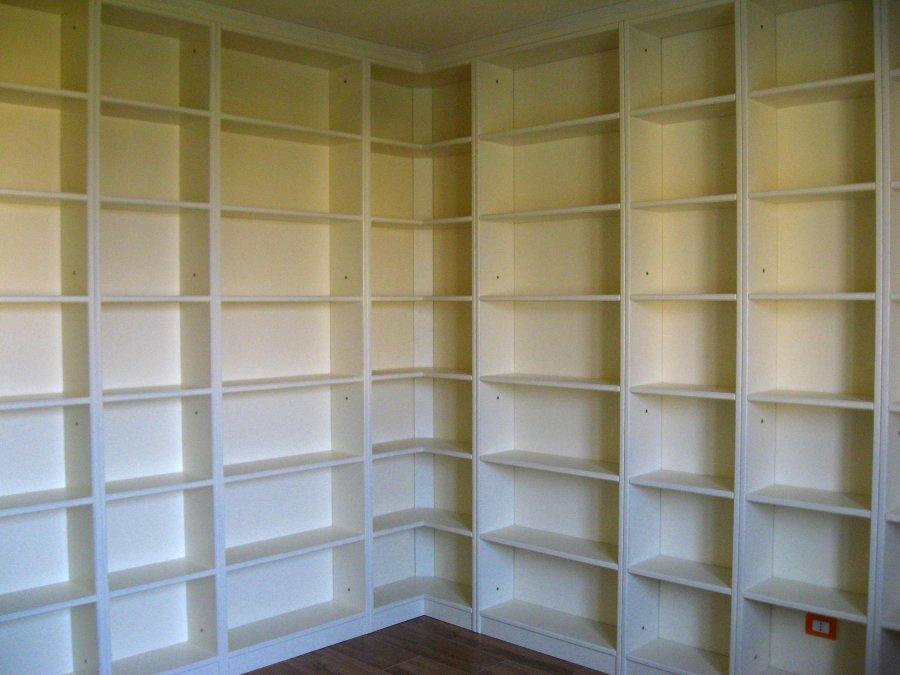 Libreria ad angolo | Soggiorni e librerie