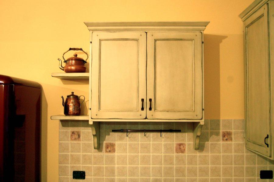 Immagine 3 5 cucina invecchiata shabby - Cucine shabby country ...