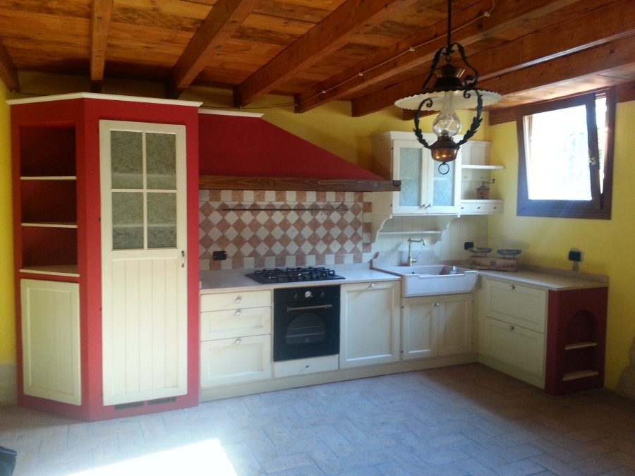Cucina country in muratura cucine country shabby - Cucina in muratura country ...