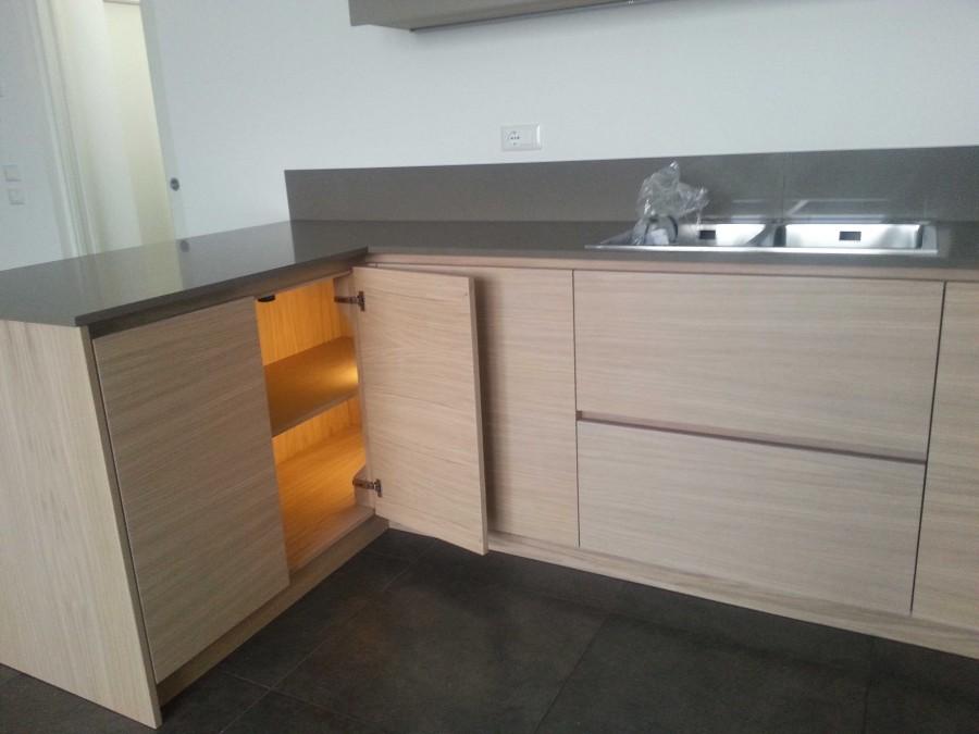 Cucina Rovere sbiancato e gole | Cucine moderne